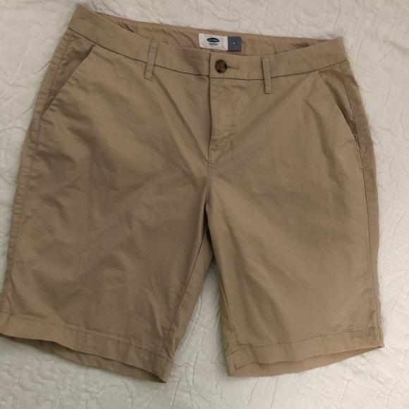 Old Navy Pants - Old Navy Women's Khaki Shorts, sz. 4, $10 NWOT